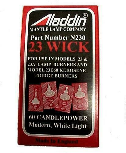 New Aladdin wick for kerosene oil lamps Model - N230 (23,23A,23E60)