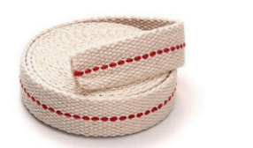 Flat Cotton wick 1 inch (25 mm) x 1 Metre For Kerosene oil Lamps