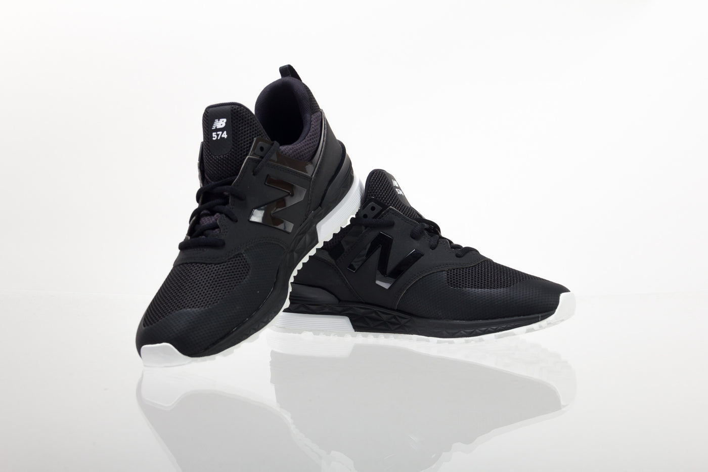 best website 422ec 47ece New Balance 574 Sport - Black / White - Empire Skate