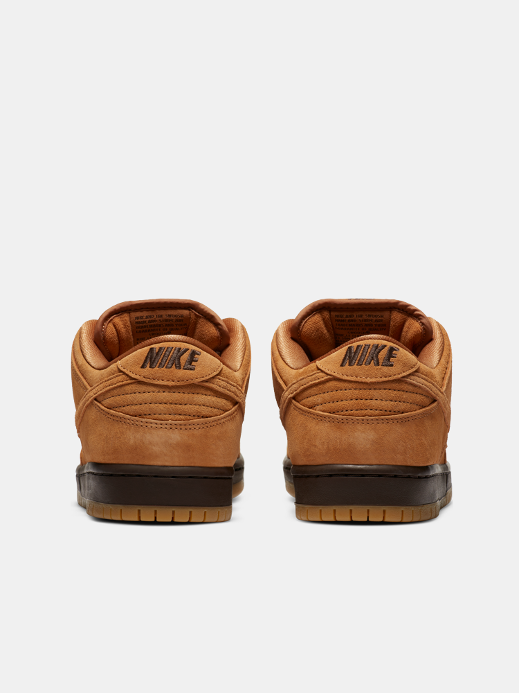 Mike SB Dunk Low Wheat Mocha