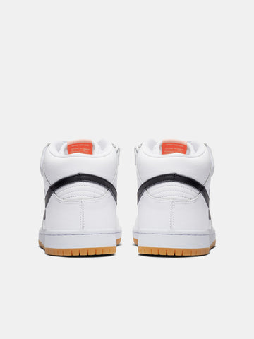 Nike SB Orange Label Dunk Mid Pro White Black