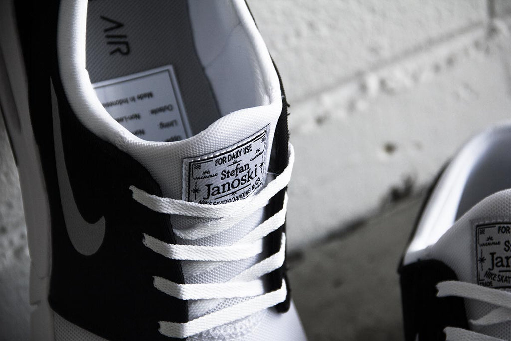 Nike Sb Metallic silver white black