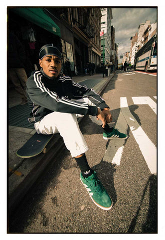 tyshawn jones adidas green sneakers