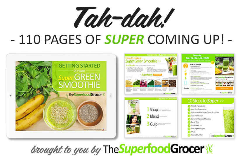 Free Green Smoothie Recipes The Superfood Grocer Philippines