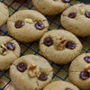 Gluten-Free Vegan Dark Chocolate Chip Walnut Cookies