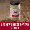 Vegan 4-Herb Cashew Cheese Spread | The Superfood Grocer Philippines