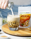 Premium Instant Houjicha Roasted Green Tea Drink