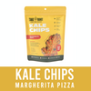 Kale Chips Margherita Pizza