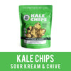 Kale Chips Sour Cream and Chive