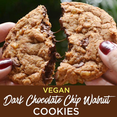 Vegan Dark Chocolate Chip Walnut Cookies by The Superfood Grocer (Philippines) - Freshly Baked!