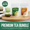Instant Matcha & Instant Houjicha Roasted Green Tea Bundle