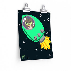 Space Kitten Prints