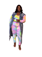 THE 'WAITING PATIENTLY' TIE DYE SET
