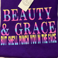 THE BEAUTY AND GRACE RAINBOW TEE