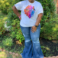 THE 'DARE TO FLARE' PLUS SIZE JEANS