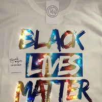 THE 'HOLOGRAPHIC BLACK LIVES MATTER' TEE