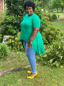THE I'M SO GREEN TOP