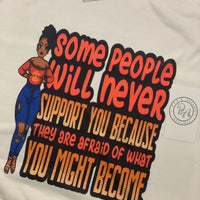 I can support myself tee
