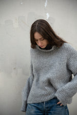 FISHERMAN TURTLENECK - FOG
