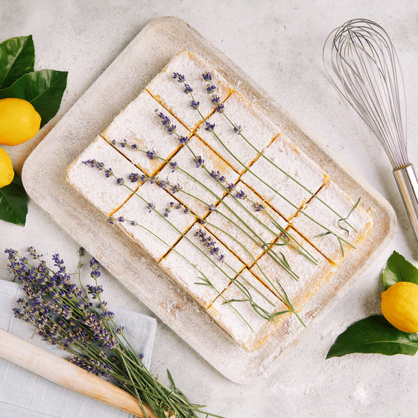 Lavender Lemon Bar Recipe