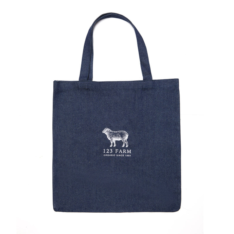 Denim 123 Farm Sheep Tote