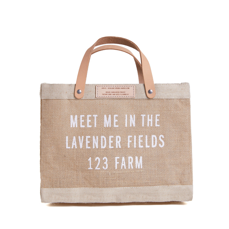 Meet Me in the Lavender Fields Market Bag
