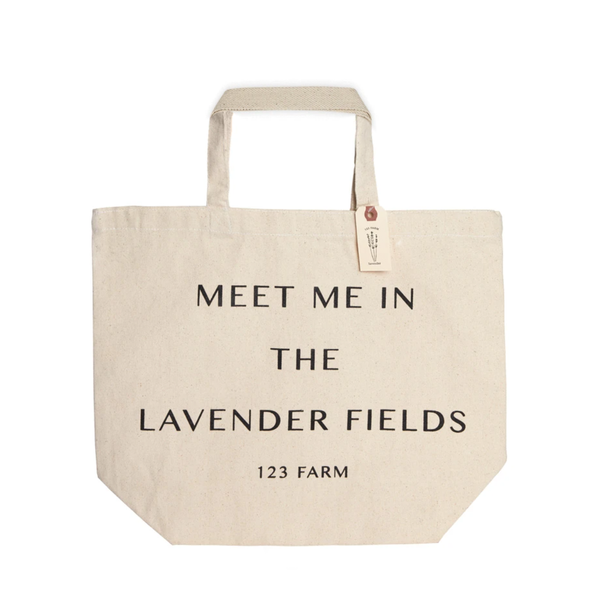 Meet Me in the Lavender Fields Tote Bag