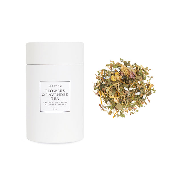 123 Farm Loose Leaf Flowers & Lavender Tea