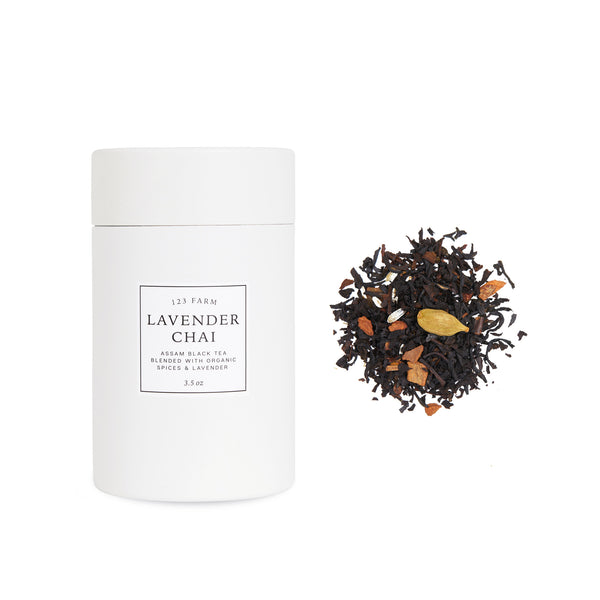 123 Farm Loose Leaf Lavender Chai Tea