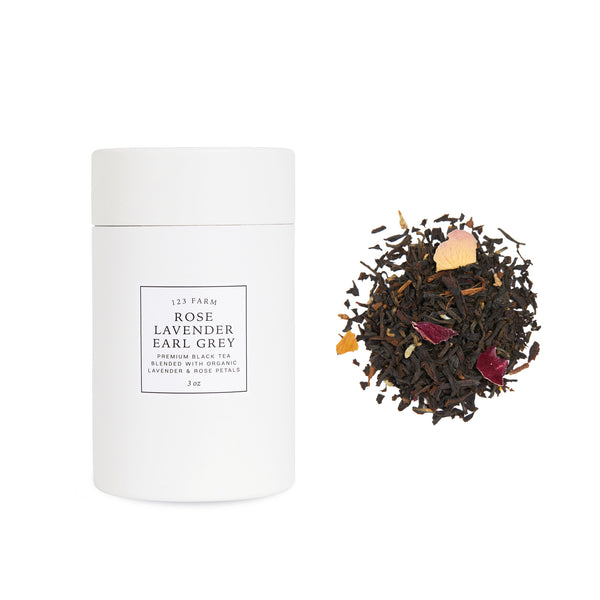 123 Farm Loose Leaf Rose Lavender Earl GreyTea
