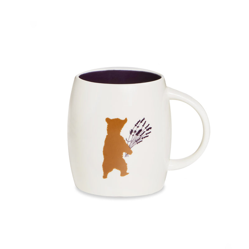 Mug - Bear with Lavender