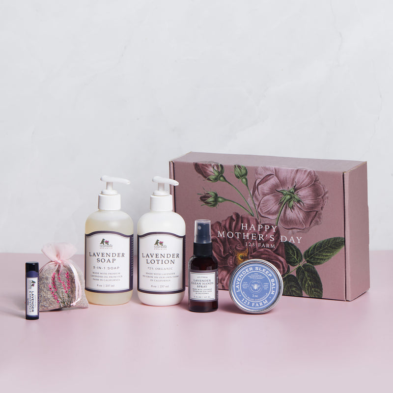 Luxuriant Lavender Set - Mother's Day Gift