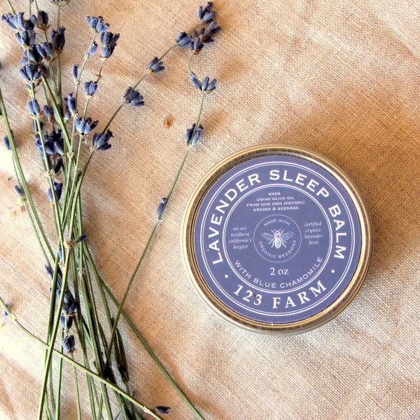 123 Farm Lavender Sleep Balm 2 oz.