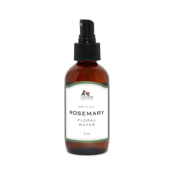 123 Farm Organic Rosemary Floral Water