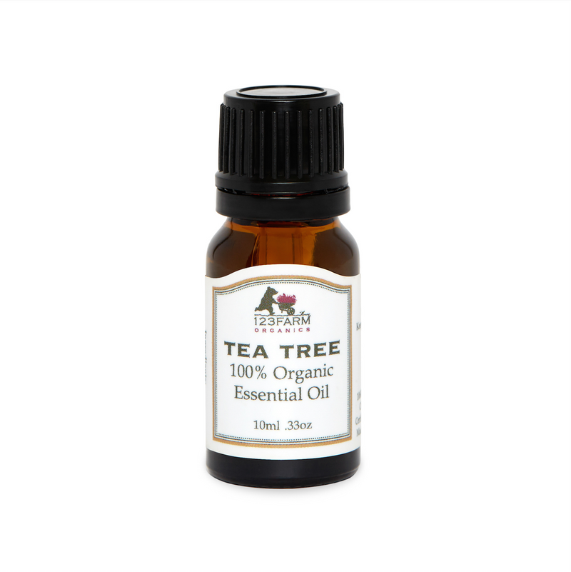 123 Farm Organic Tea Tree Essential Oil