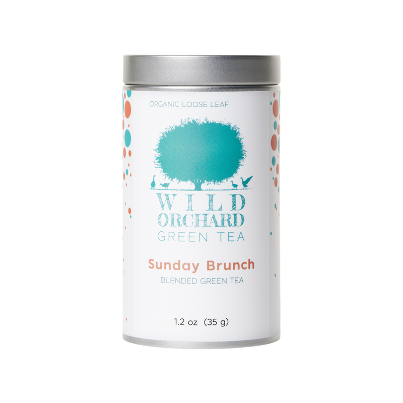 Sunday Brunch | Wild Orchard Green Tea