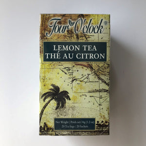 Four O'Clock Lemon Tea