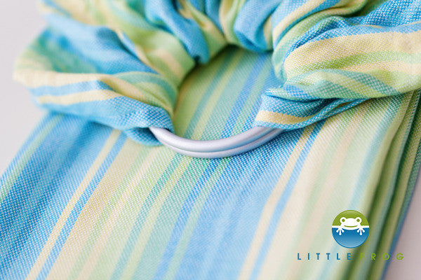 Little Frog Bamboo Adventurine Ring Sling