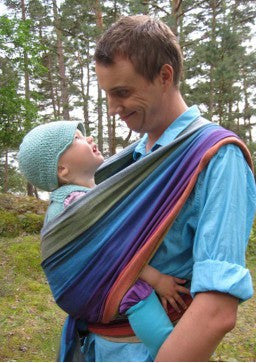 Girasol Northern Lights Woven Wrap - Thick Toddler Weave
