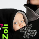Zoli Trio Babywearing and Maternity Coat - Pearl - at Sweet Baby Wraps