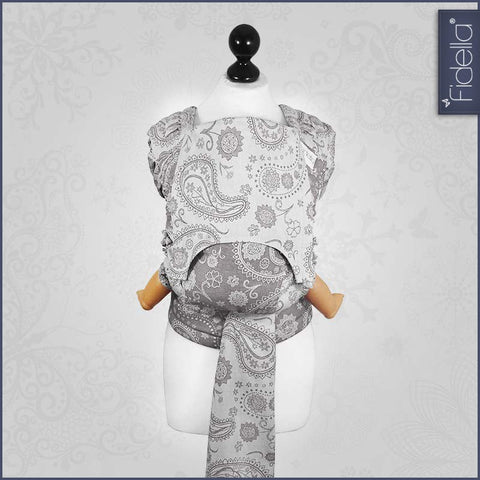 Fidella Fly Tai Persian Paisley Smoke at Sweet Baby Wraps