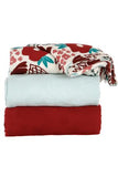Tula Blanket Set - Pointsettia