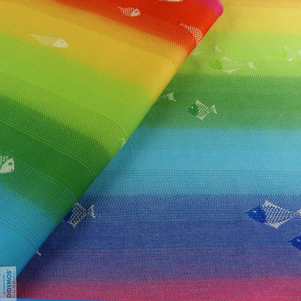 Didymos Rainbow Fish Ring Sling