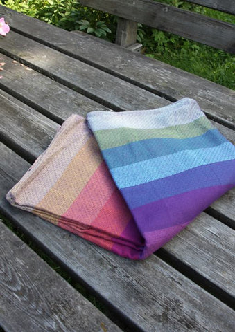 Girasol Northern Lights Diamond Weave Woven Wrap