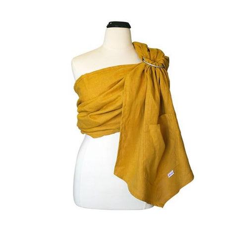 myheartcreative Honey Linen Ring Sling