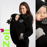 Zoli Trio Babywearing and Maternity Coat - Pearl at Sweet Baby Wraps