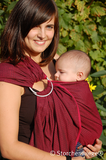 Storchenwiege Leo Bordeaux Ring Sling