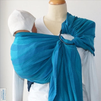 Didymos Aqua Waves Ring Sling
