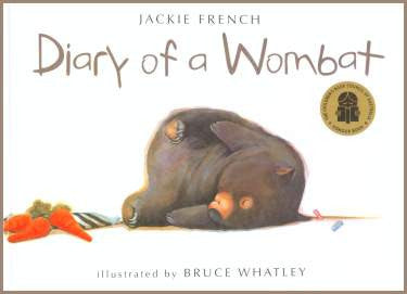 Diary of a Wombat Board Book