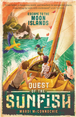 Escape To The Moon Islands: Quest Of The Sunfish #1